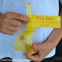 Pixie Dust Pouches {with free printable tags}