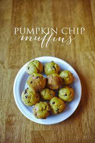 Bethany Keisler Creatives: Pumpkin Chip Muffins | Recipe
