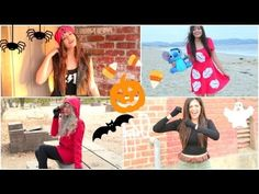 Super Fast & Affordable DIY Halloween Costumes! I finally decided on what to be for Halloween!! I'm going to be the first one in this video which is the biker chick because it would be so easy to make with what I already have! what are you guys gonna be?-Ash