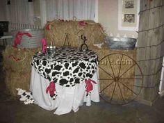 shower ideas, party decoration ideas, cowboy theme, decoration party, decorating ideas, teen parties, cake tables, cowboy baby, western decorations