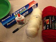 Fall Kid Craft: Yarn Pumpkins   GreeleyMoms.com
