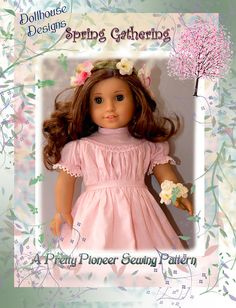 Sewing Pattern for American GIrl Dolls - more patterns coming soon http://www.etsy.com/shop/DollhouseDesigns
