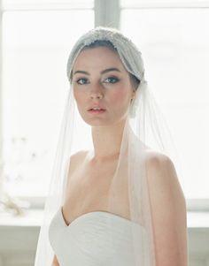 Beautiful 20s inspired veil