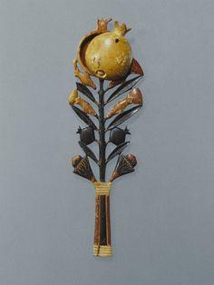 Ointment-Spoon:Medium: Ivory  Place Made: Egypt  Dates: ca. 1336-1327 B.C.E.  Dynasty: late XVIII Dynasty  Period: New Kingdom