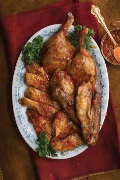 Roast Duck with Mandarin Orange Sauce | SAVEUR