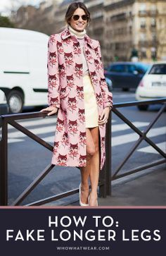 11 style tricks to make your legs look supermodel-long