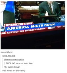 The 21 Best Reactions To The United States Government Shutdown
