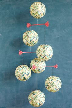 Paper Lantern Mobile DIY / by ThussFarrell for Oh Joy