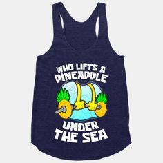 Who Lifts A Pineapple Under The Sea #lifting #workout #fitness #spongebob #squarepants #gym #nerdfitness
