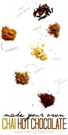 Make Your Own Chai H