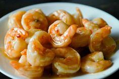 lime shrimp, honey lime