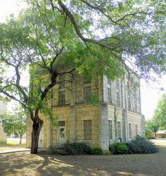 Old Kendall County Jail, Texas by Bob Weston