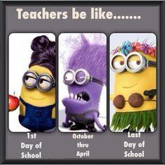 Teachers be like...
