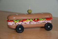 Pinewood Derby car ~ Sub Sandwich