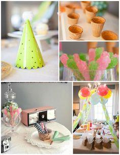 parti full, themed birthday parties, 1940s birthday, parti idea, kara parti