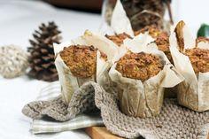 Pumpkin, Zucchini, and Quinoa Muffins (healthy)