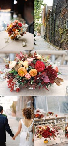 for the fall or winter wedding wedding