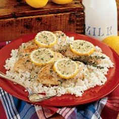 Baked Lemon Chicken - I liked but Adam didn't