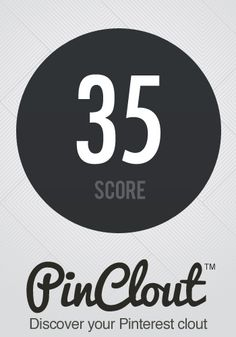 berta1974's PinClout score is 35!