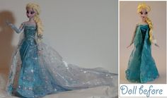 Elsa the Snow Queen OOAK by lulemee
