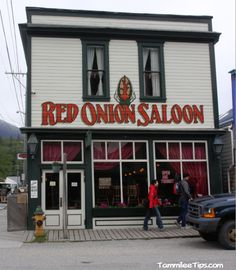 Red Onion Saloon, Skagway Alaska.  Built in 1897, originally as one of the finest bordellos in Skagway.