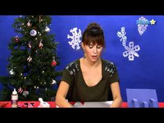 How to Make a Pop-Up Christmas Card - YouTube