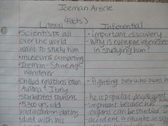 To encourage critical thinking, have students write expository notes in both literal & inferential form! This works well for science & social studies (and any non-fiction text).