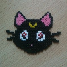 Luna Sailor Moon perler beads by pandacreations