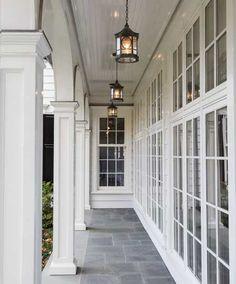 Home Exterior ~ Porch ~ Columns