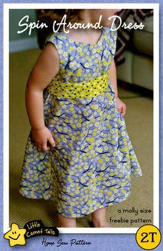Spin Around Freebie Dress Pattern.