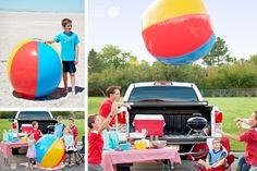 Keep the ball rolling. #beachball pickyourplum.com