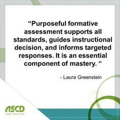 Why assessment is so important for students.
