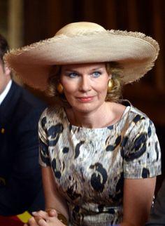 Queen Mathilde, September 17, 2013 I The Royal Hats Blog