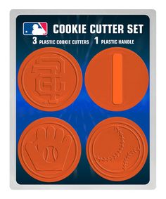 San Francisco Giants Cookie Cutter Set--I neeeeeed this!