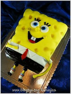 Spongebob cake idea!
