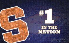 Syracuse Basketball No. 1 Desktop Wallpaper
