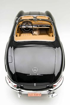 Mercedes 300 SL from a different angle...