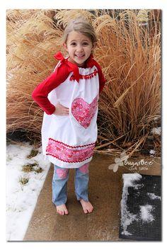 Holiday pillowcase dresses