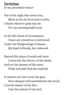 one of my favorite poems