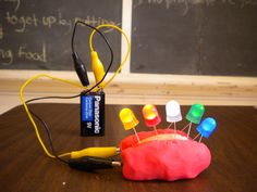 Squishy circuits! Explore electricity, play, create!  #Tinkerlab #RoostBooks