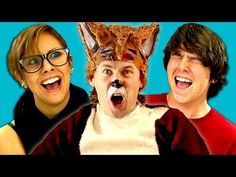 FineBros:Teens react to Ylvis-The Fox