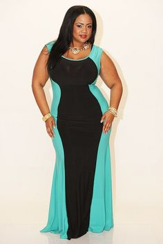 Evening Dresses For Full Figured Women - Holiday Dresses