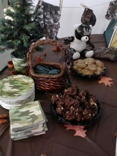 My camo Baby Shower!