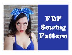 sewing diy, diy rockabilly, sew pattern, rockabilli hair, sewing patterns