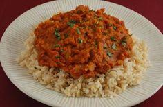 Vegan Happy Herbivore Red Lentil Dal (GF/SF/CF/YF/NF/Oil-free) red lentil recipes, red lentils recipe, vegetarian lentils, herbivor red, favorit recip, happi herbivor, happy herbivore recipes, dal recipe, vegan red lentil dal