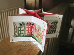 Nordic Star Card - Guest Designer for 52 Christmas Throwdown