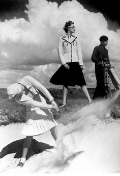 Golfing at Le Touquet - 1939 - Photo by Norman Parkinson