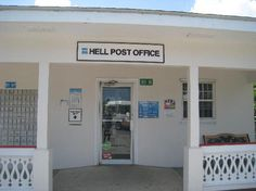 Hell Post Office - Grand Cayman