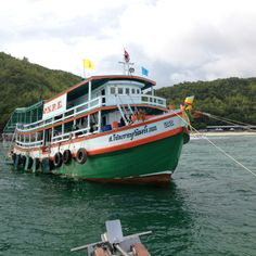From Fishing boat transform to travel boat