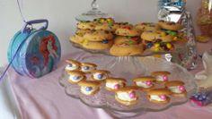 Nilla Wafer clan cookies. Ariel theme.